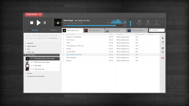 Audio player (Leed Player) by nSharky