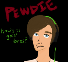 My name is PEWDIEPIE! by fictionaloutcomes