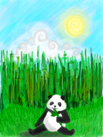 Panda by BrockenWings