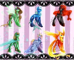 Mythical Pony Adopts - Auction ENDED by JigokuShii