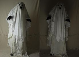 Bedsheet Ghost 2 by The-Lionface