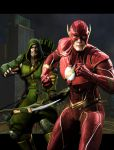 Injustice The Flash and Green Arrow by stick-man-11