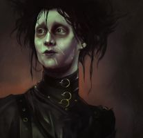 Edward Scissorhands by LoranDeSore