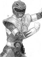 Green Dragon Ranger by JRtheMonsterboy
