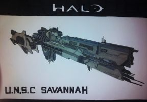 UNSC Savannah by LighterShadeOfGrey72