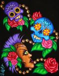 Calavera by natalievonraven