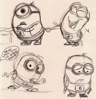 Minions - 3 by Mitch-el