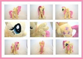 MLP Fluttershy Plushie - Alternate Views by MLPPlushies