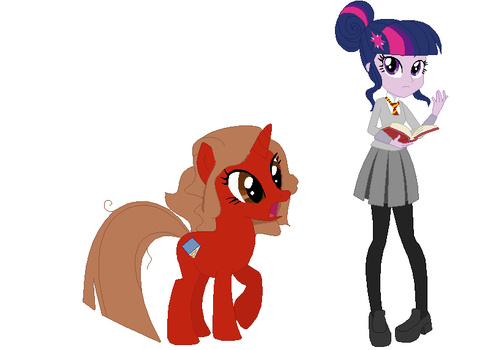 Crossover AU Hermione and Twilight by EverythingReviewer