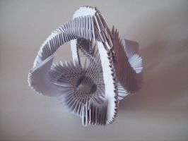 small Papermodulobject  metamorphoses 100 by papermodulgirl