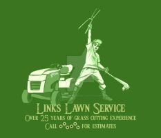 Links lawn care by greyfoxdie85