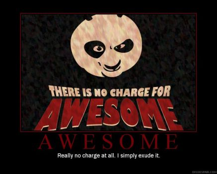 No Charge for teh Awesome by Khantos17