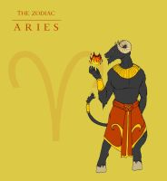 The Zodiac: Aries by Silvre