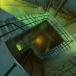 Motorcity Stairwell by hungerartist