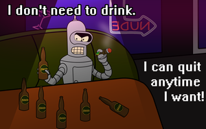 I don't need to drink... by Sapo100