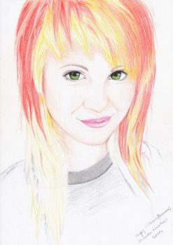 Hayley Williams by xkesix