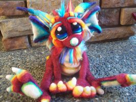 Little Red Sprinkle Dragon. by Tanglewood-Thicket