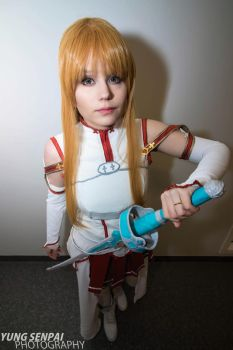 Bring it on! [Asuna] by KiraTheUsagii