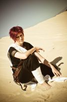 Gaara of the desert III by OsirisMaru