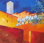 San Gimignano 2 by andreuccettiart
