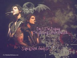 Synyster Gates Wallpaper by MischiefIdea