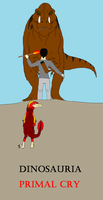 Dinosauria Primal Cry- AT with DInossword. by Redspets