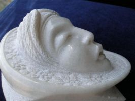 'Head of an Angel' detail by manuroartis