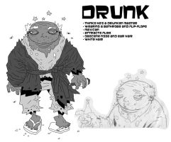 Drunk by soliton