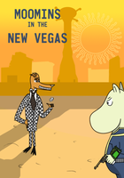 Moomins on the New Vegas by SadlyLover