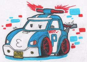 best police car ever ! by theo46