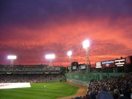 Fenway Sunset by Sobotkafan