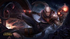Hired Gun Lucian by AlexFlores