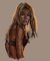 Pepper Potts WIP by ChristyTortland