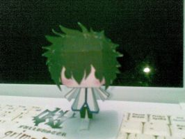 gray fullbuster papercraft by Grim-paper