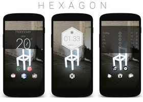 Hexagon Theme by Zohan1980