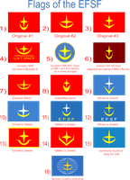 Various other EFSF Flags by ZFShadowSOLDIER