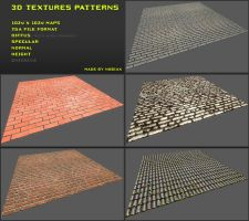 Free 3D textures pack 19 by Nobiax