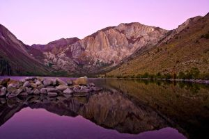 Before Dawn, Convict Lake by shubat