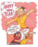 Happy New Year by lupitard