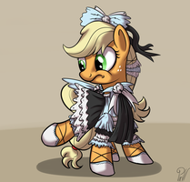 TMAC - Frilly Applejack by Pirill-Poveniy
