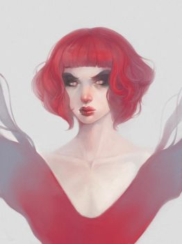 badass red by bilopsis