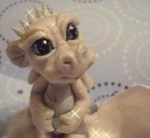 ooak baby ice dragon2 by crazylittlecritters
