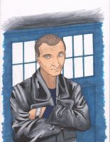 9th Dr Who Commission by angelacapel