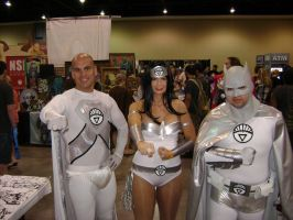 White Lantern Justice League cosplay by Robot001