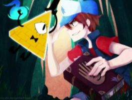 First Gravity Falls Anime! by DisneyFanGirl4Life