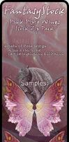 Pink Pixie Wings Zip Pack 1 by FantasyStock