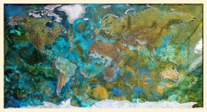 World Map by shanti1971