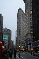 Views of NY 6 Flatiron by LucieG-Stock