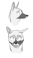 genet face sketches by SovereignSky