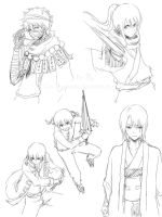 GINTAMA Movie 2 spoiler doodles 2... by Gin-Uzumaki